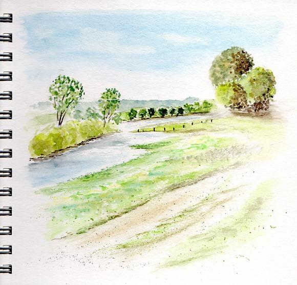 Promenade en basse vallée du Doubs
